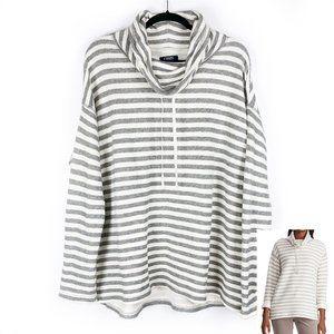 CHAPS Women's Cowlneck Dolman Sweatshirt XXL